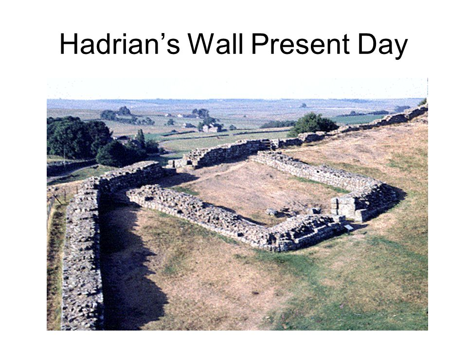 Hadrian's Wall Present Day