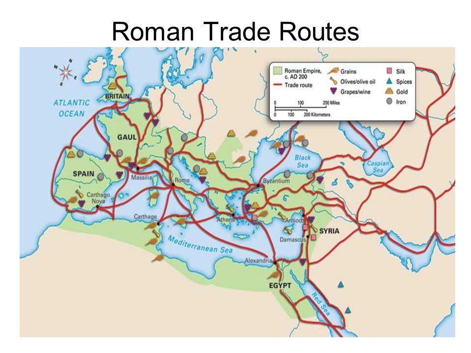 Roman Trade Routes