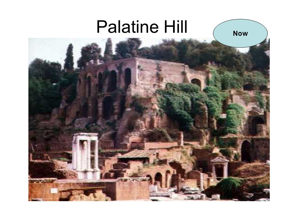 Palatine Hill Now