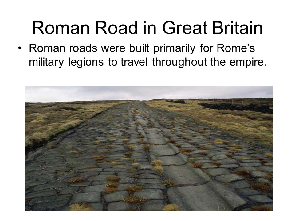 Roman Road in Great Britain