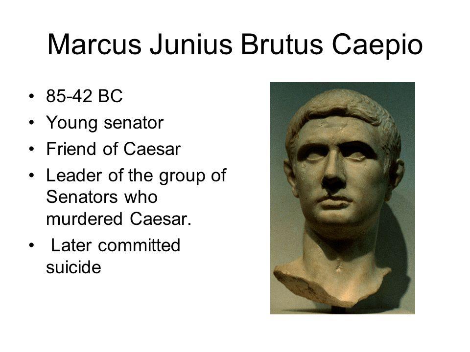 Marcus Junius Brutus Caepio