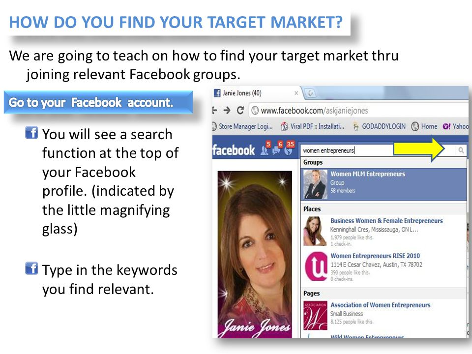 HOW DO YOU FIND YOUR TARGET MARKET