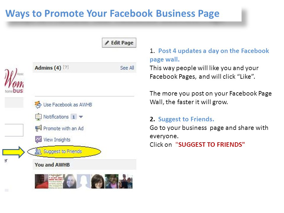 Ways to Promote Your Facebook Business Page