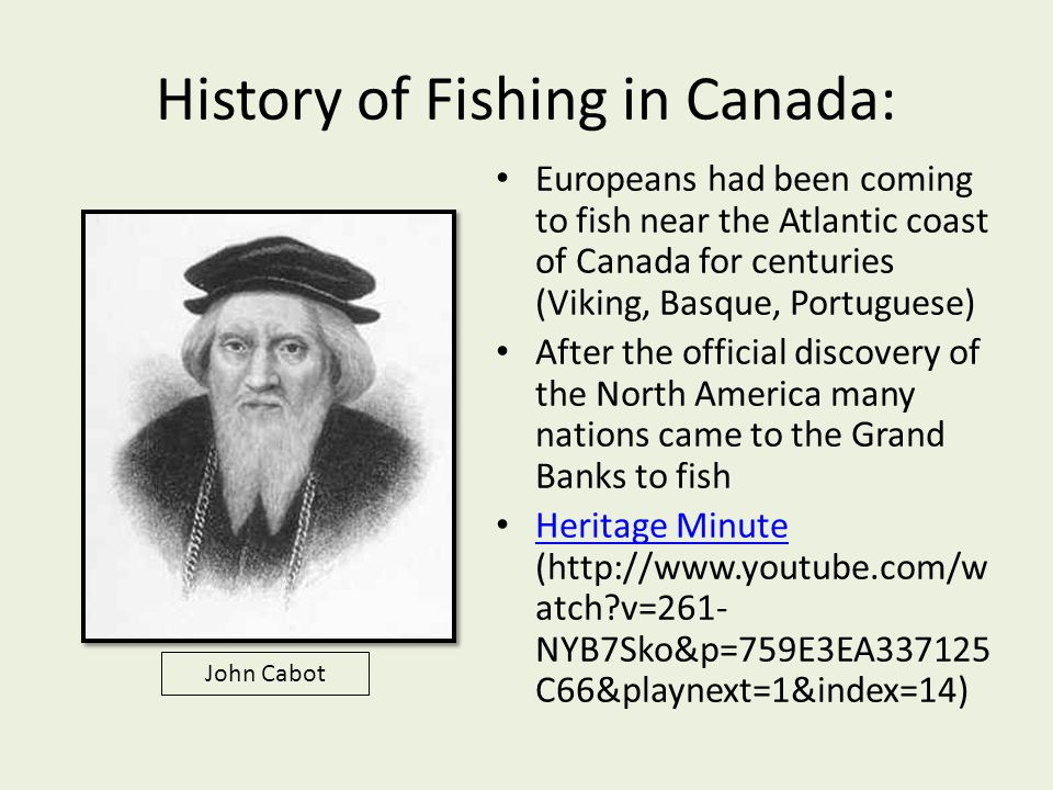 History of Fishing in Canada: