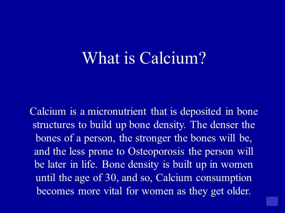 What is Calcium