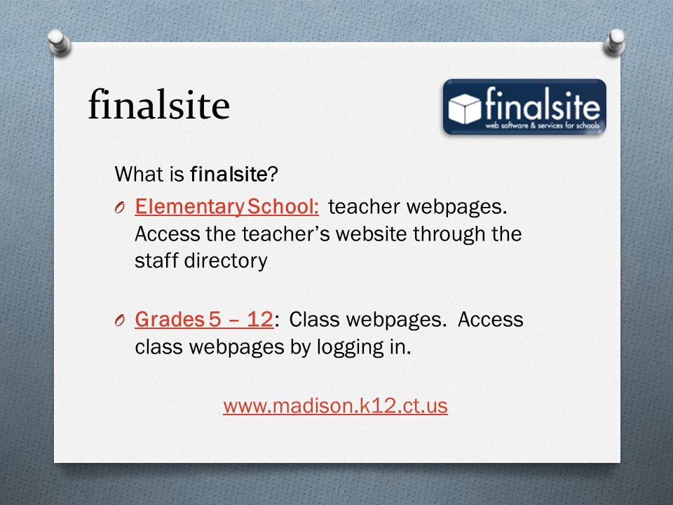 finalsite What is finalsite
