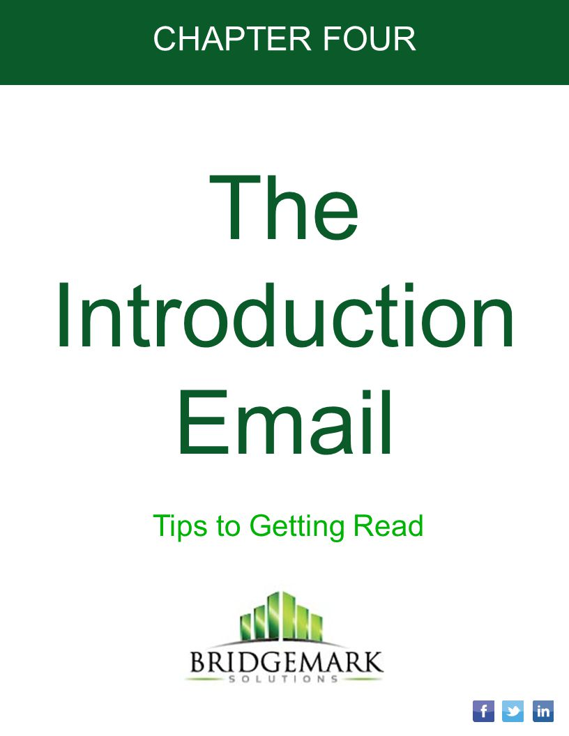The Introduction Email