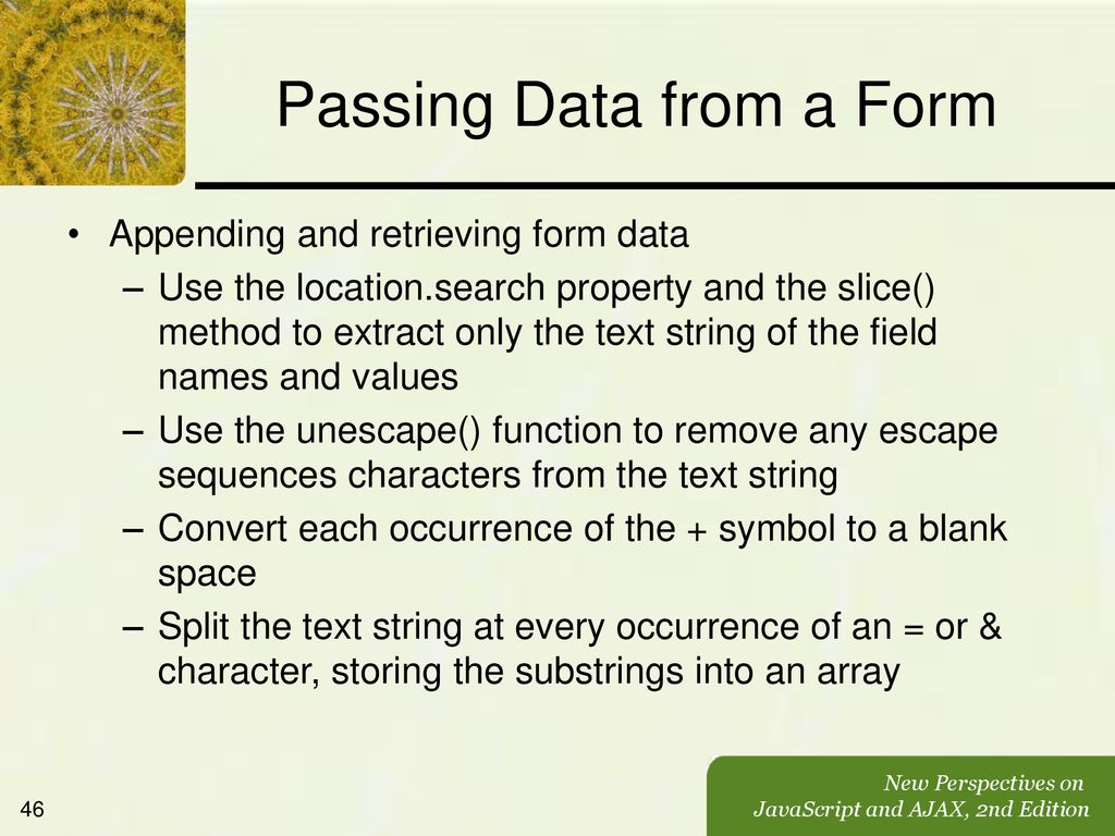 Working with Forms and Regular Expressions - ppt download