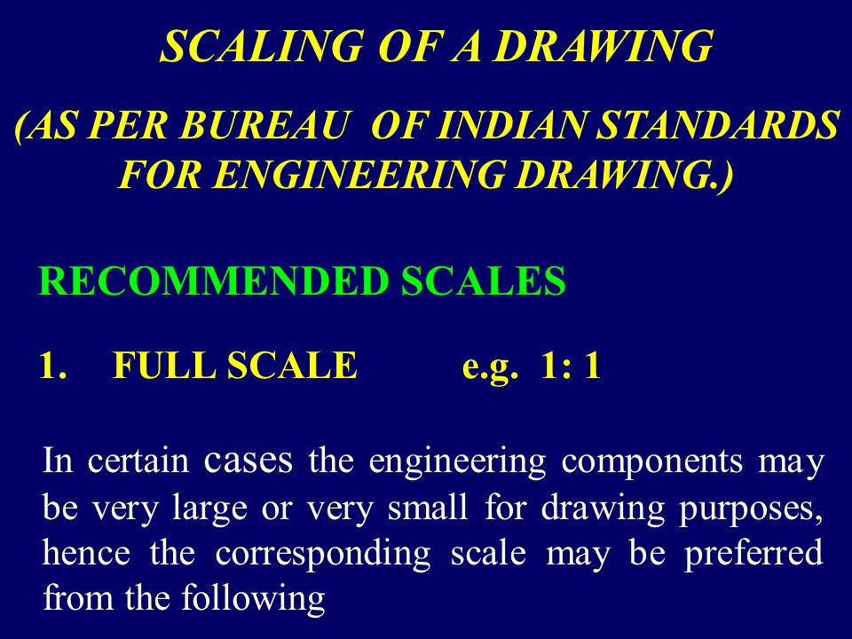 (AS PER BUREAU OF INDIAN STANDARDS FOR ENGINEERING DRAWING.)