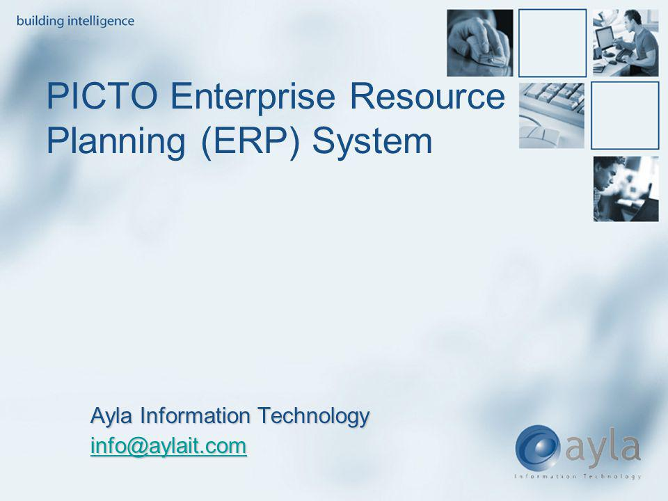 PICTO Enterprise Resource Planning (ERP) System