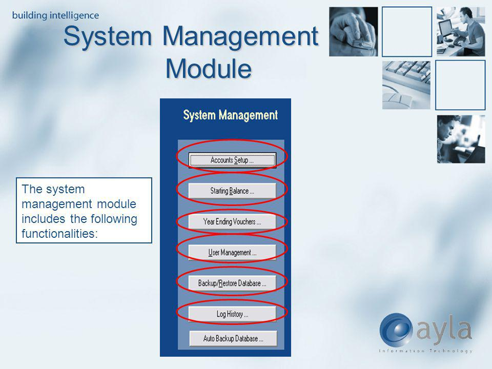 System Management Module