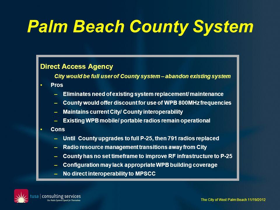 Palm Beach County System