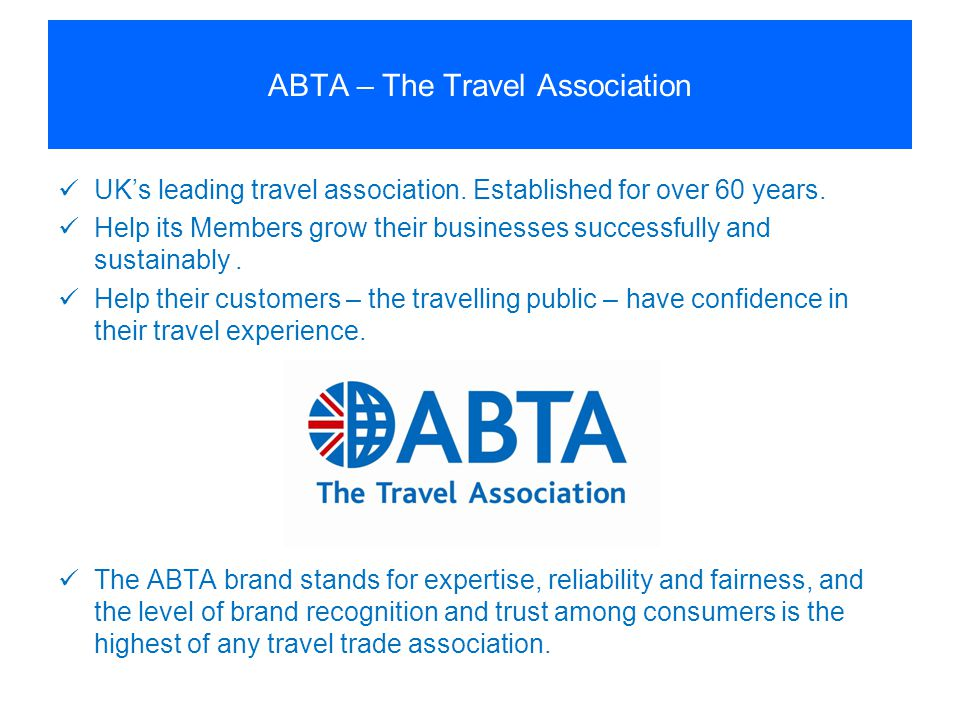 ABTA – The Travel Association
