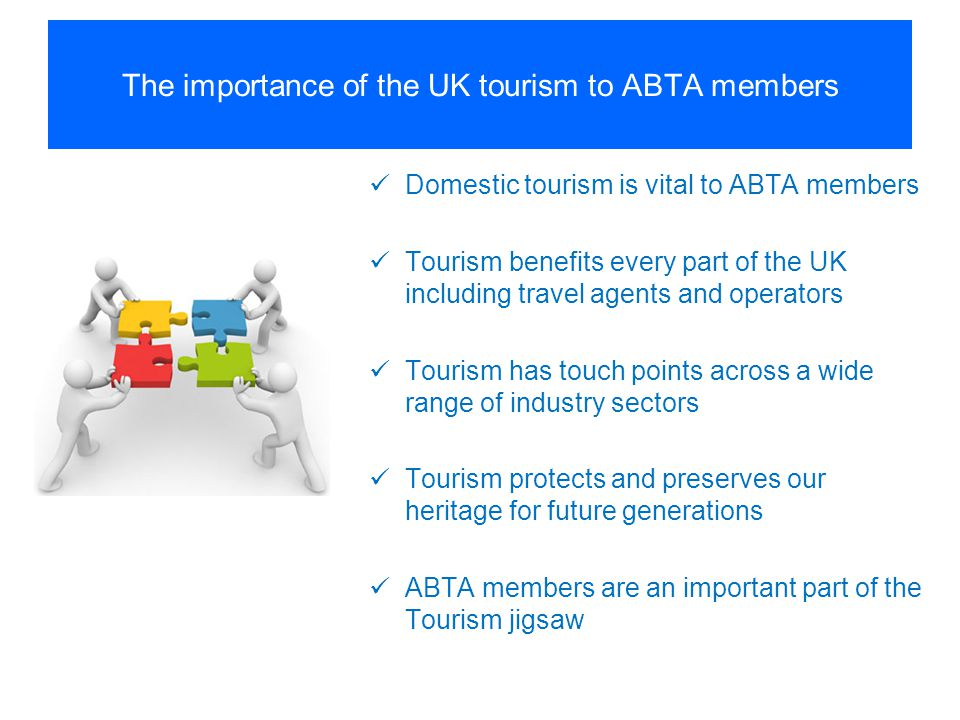 The importance of the UK tourism to ABTA members