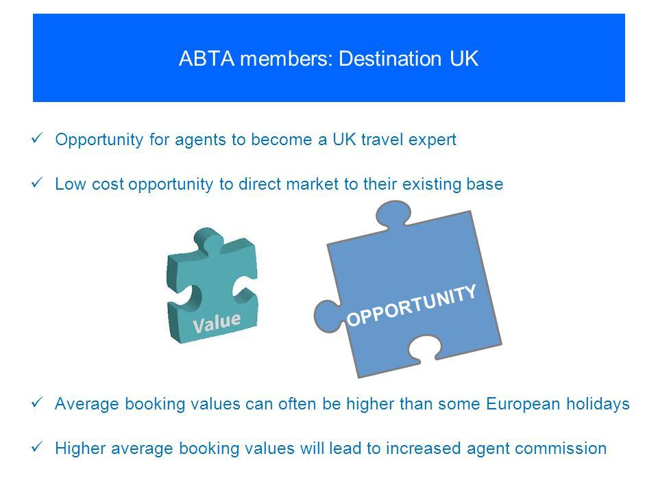 ABTA members: Destination UK