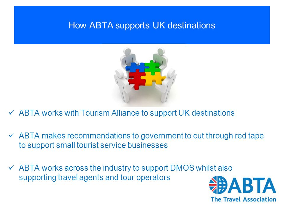 How ABTA supports UK destinations