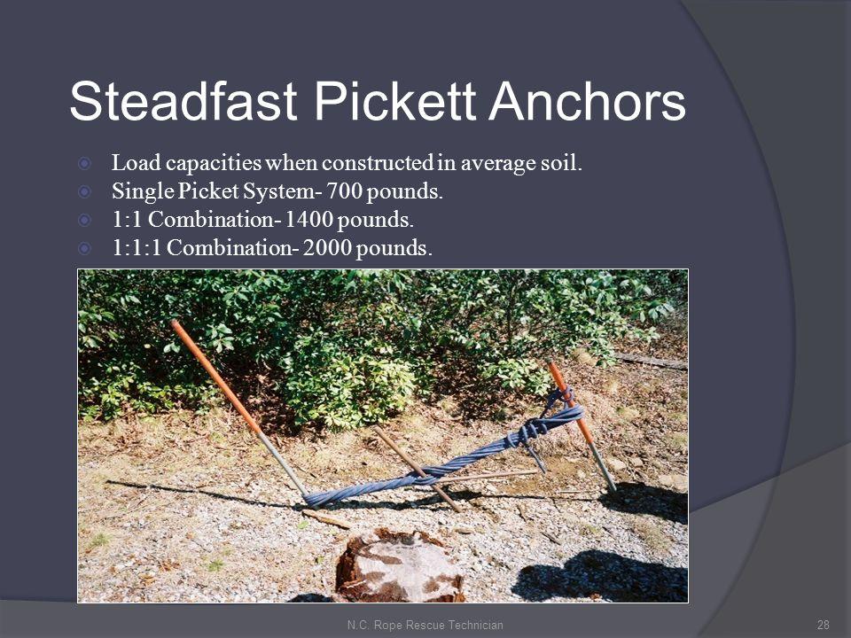 Steadfast Pickett Anchors