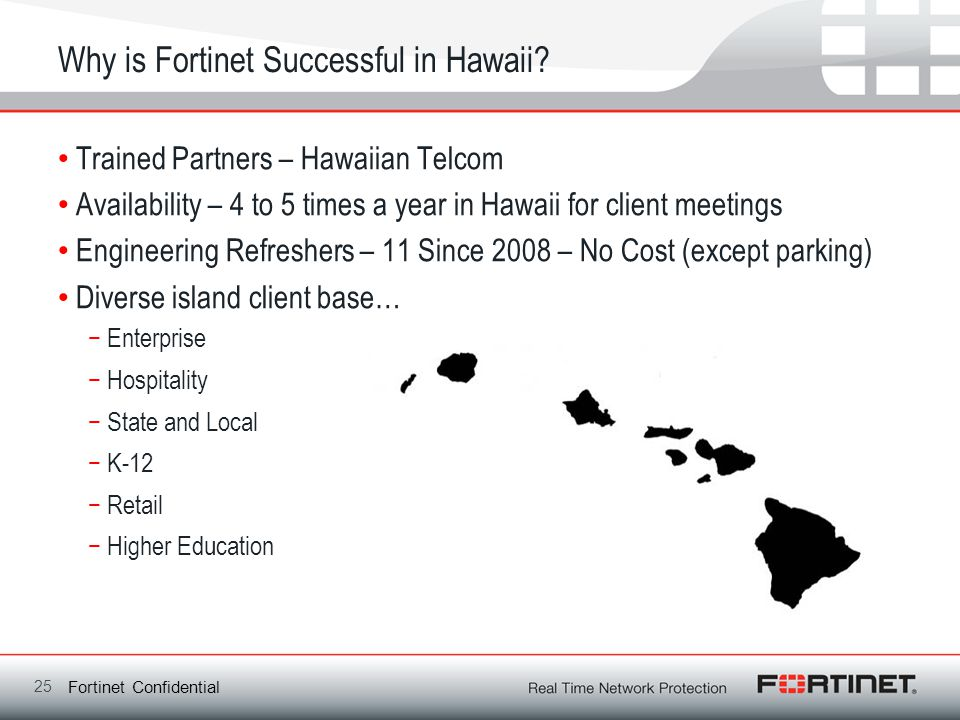 Why is Fortinet Successful in Hawaii