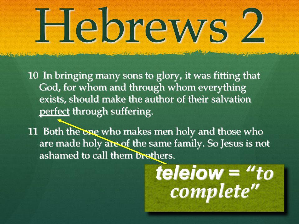 teleiow = to complete