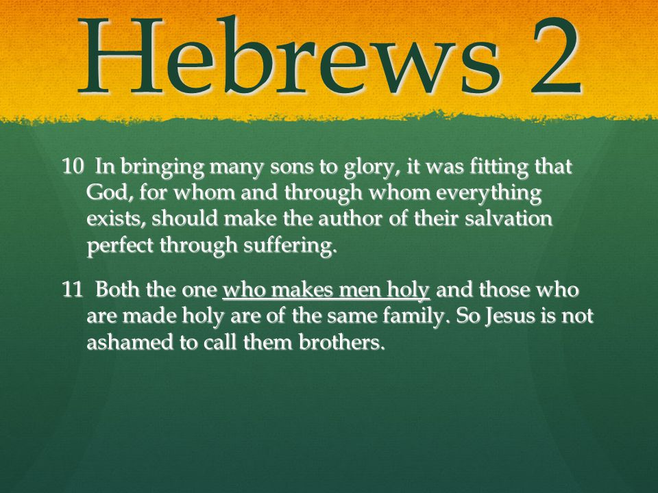 Hebrews 2