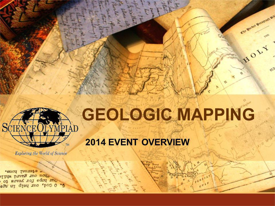 GEOLOGIC MAPPING 2014 EVENT OVERVIEW
