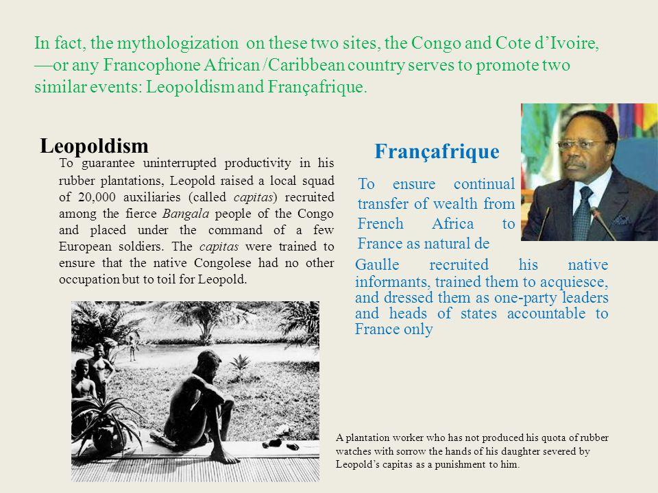 Leopoldism Françafrique