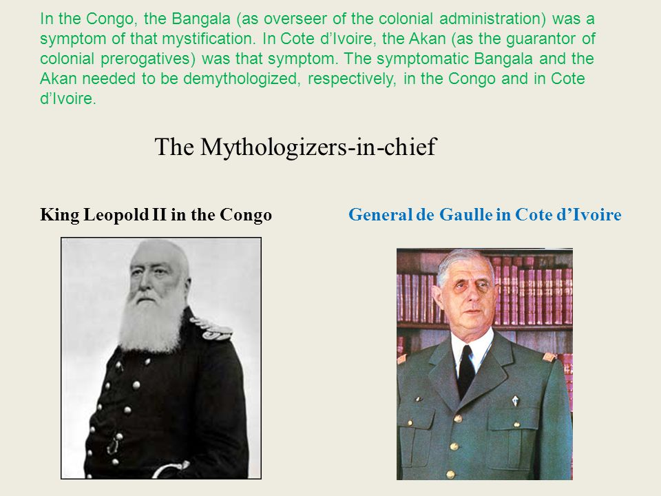 The Mythologizers-in-chief