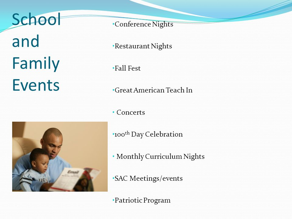 School and Family Events