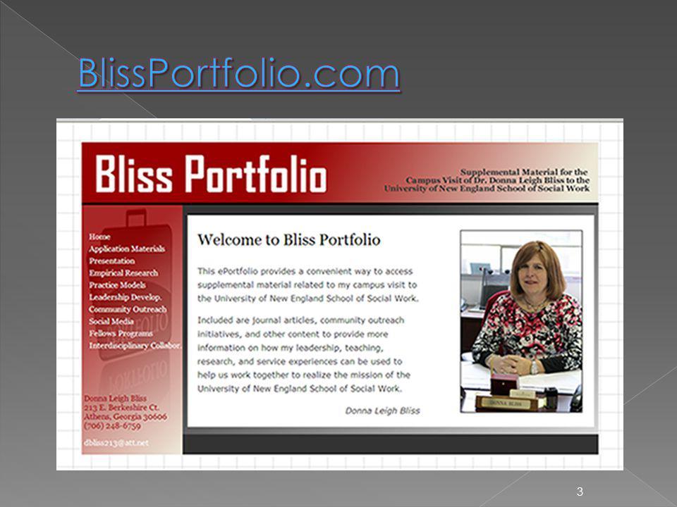BlissPortfolio.com