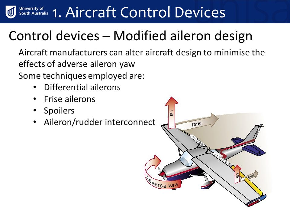 1. Aircraft Control Devices
