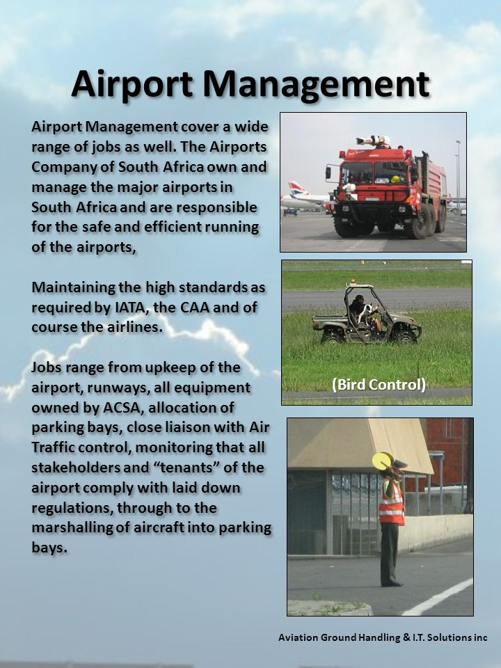 Aviation Ground Handling & I.T. Solutions inc