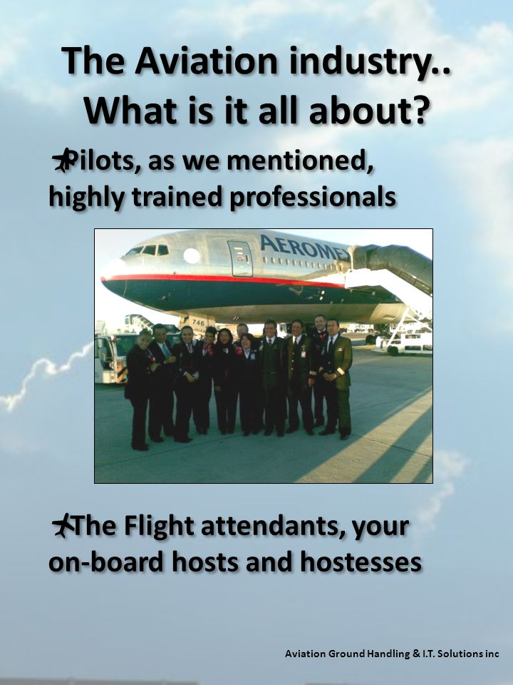 The Aviation industry.. What is it all about
