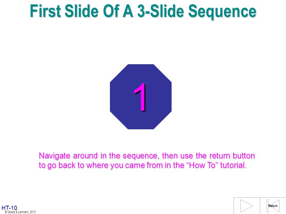 First Slide Of A 3-Slide Sequence