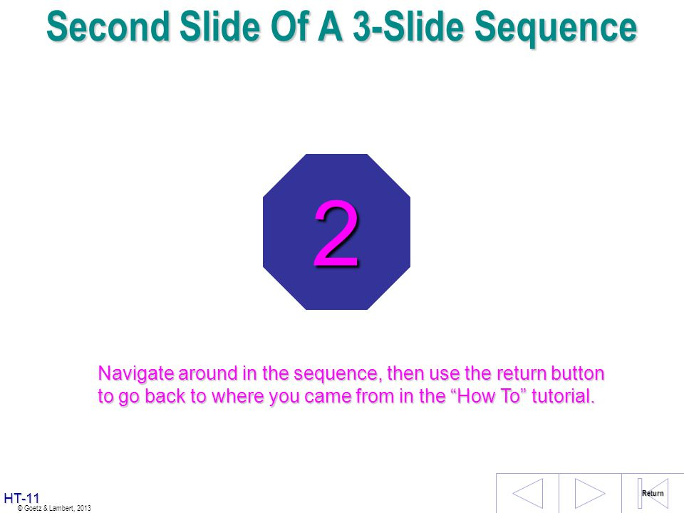Second Slide Of A 3-Slide Sequence