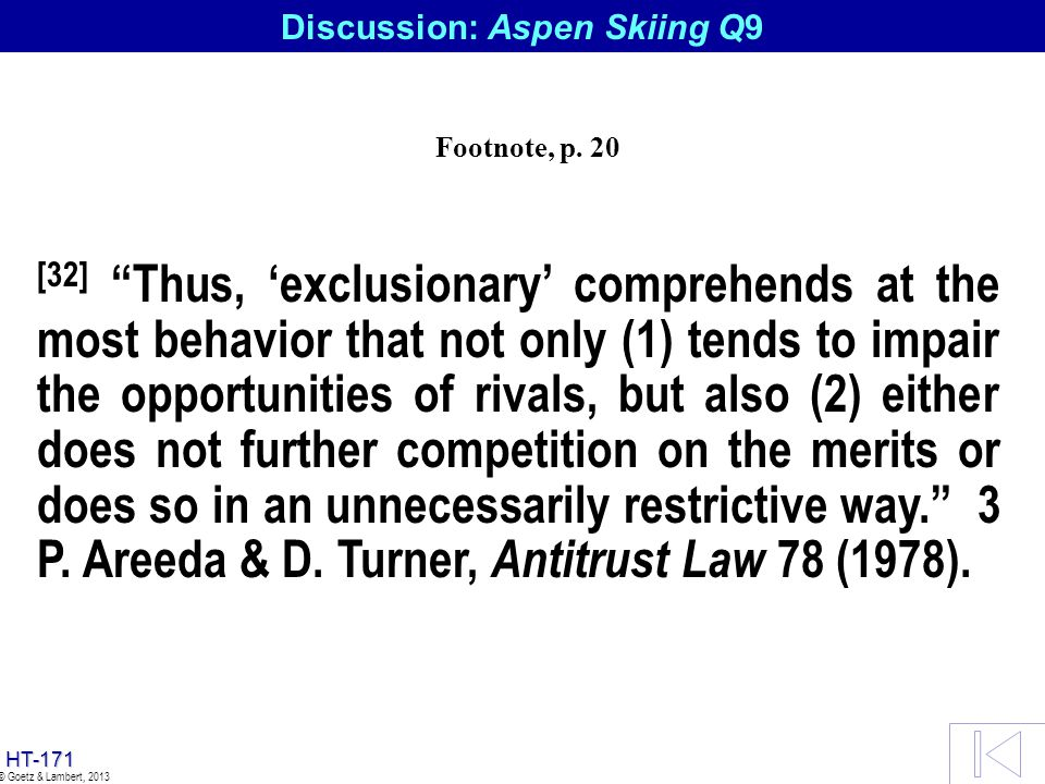 Discussion: Aspen Skiing Q9