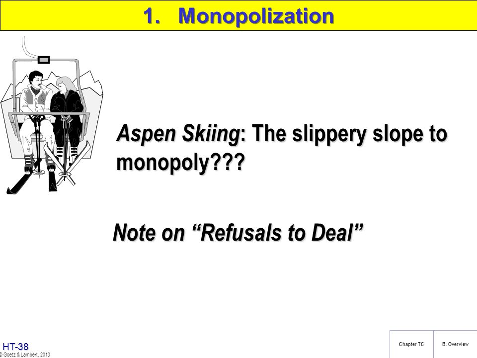 Aspen Skiing: The slippery slope to monopoly
