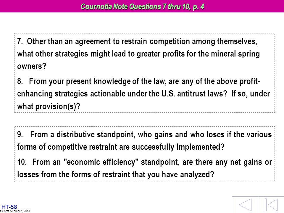 Cournotia Note Questions 7 thru 10, p. 4