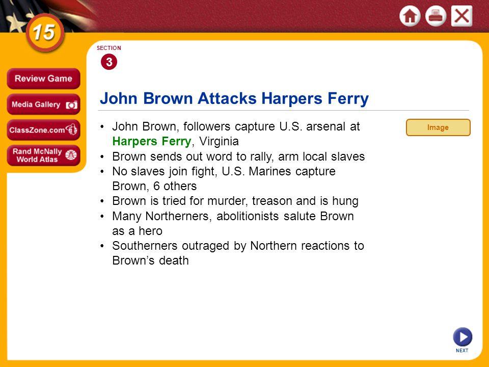 John Brown Attacks Harpers Ferry