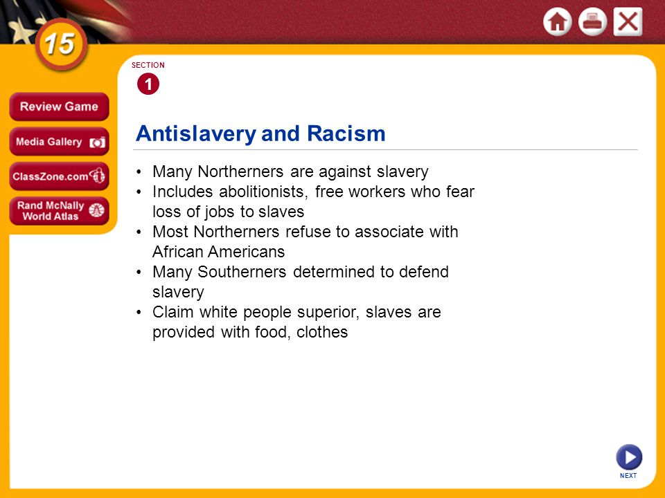 Antislavery and Racism
