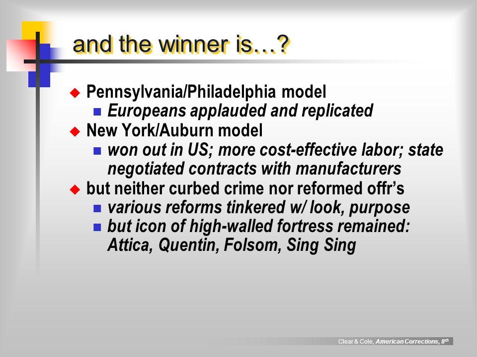 and the winner is… Pennsylvania/Philadelphia model