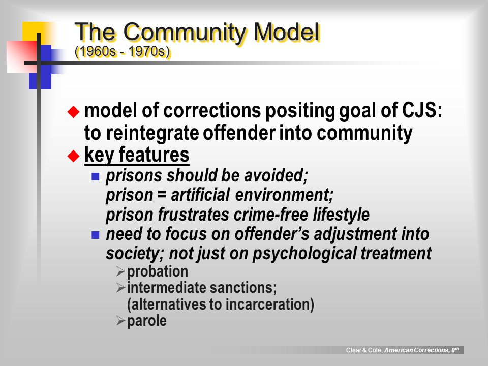 The Community Model (1960s - 1970s)