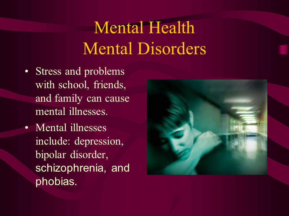 Mental Health Mental Disorders