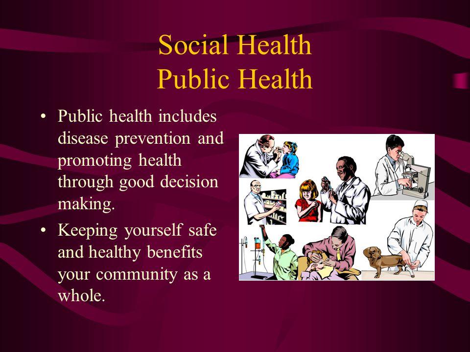 Social Health Public Health