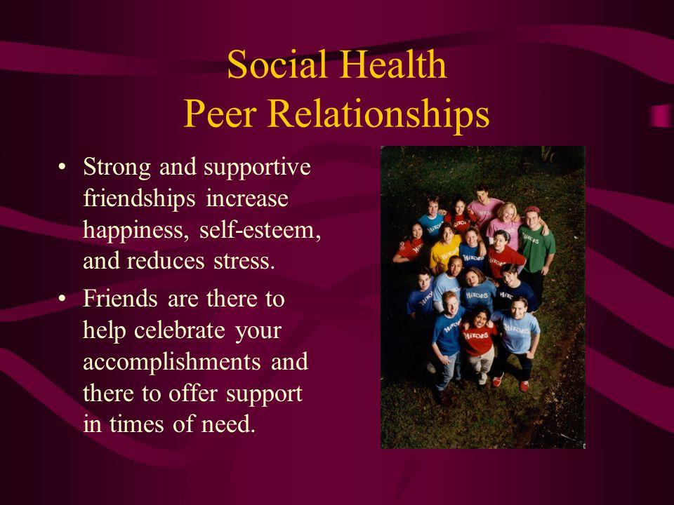Social Health Peer Relationships