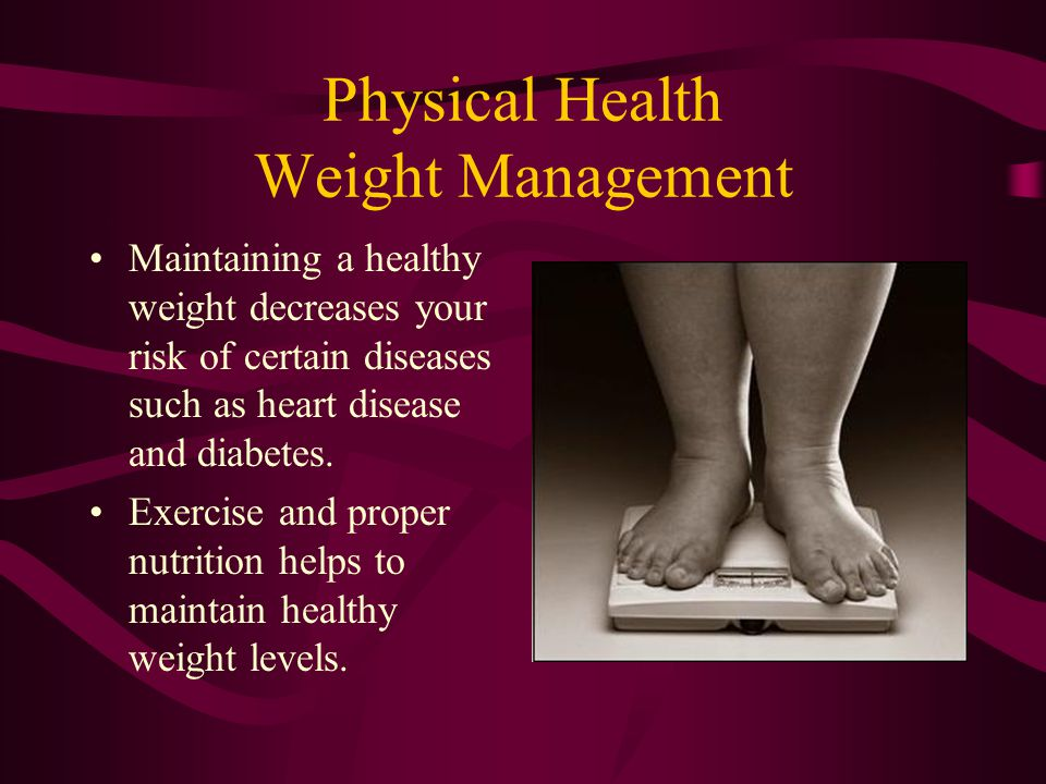 Physical Health Weight Management