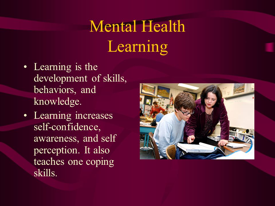 Mental Health Learning