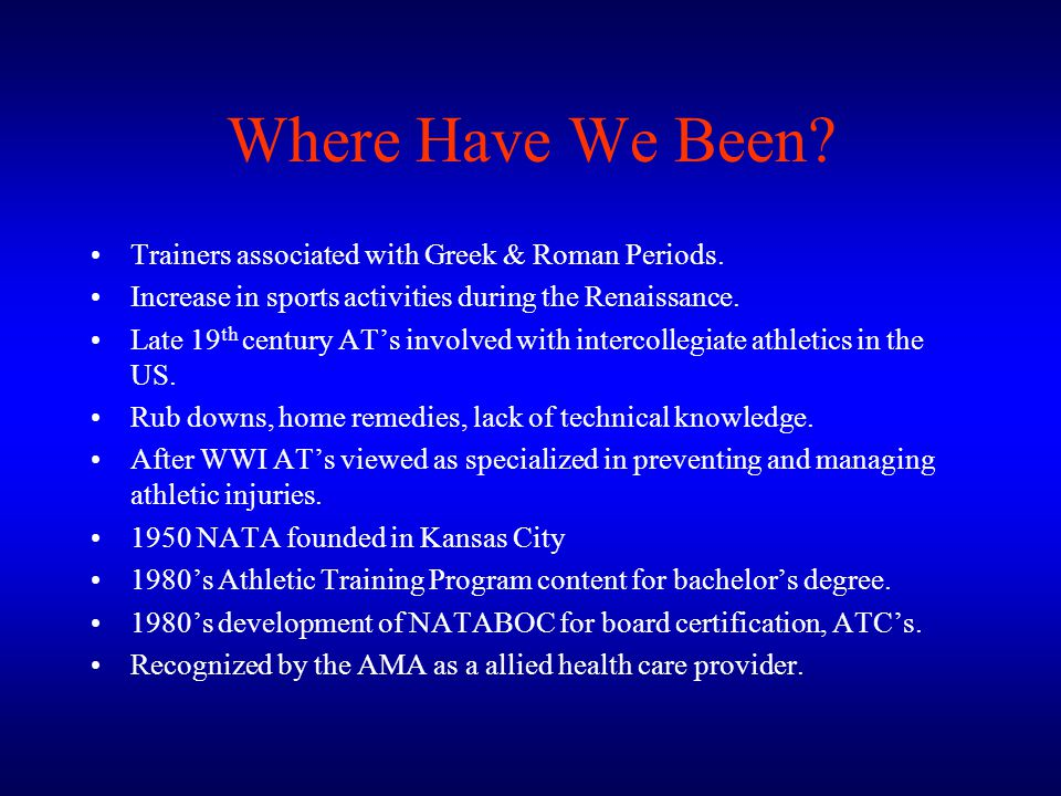 Where Have We Been Trainers associated with Greek & Roman Periods.