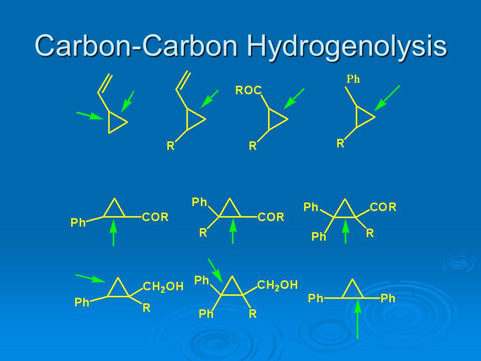 Carbon-Carbon Hydrogenolysis