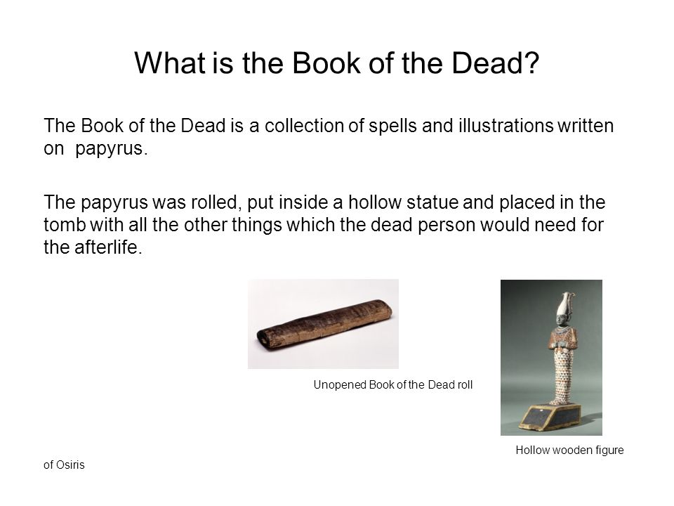 What is the Book of the Dead