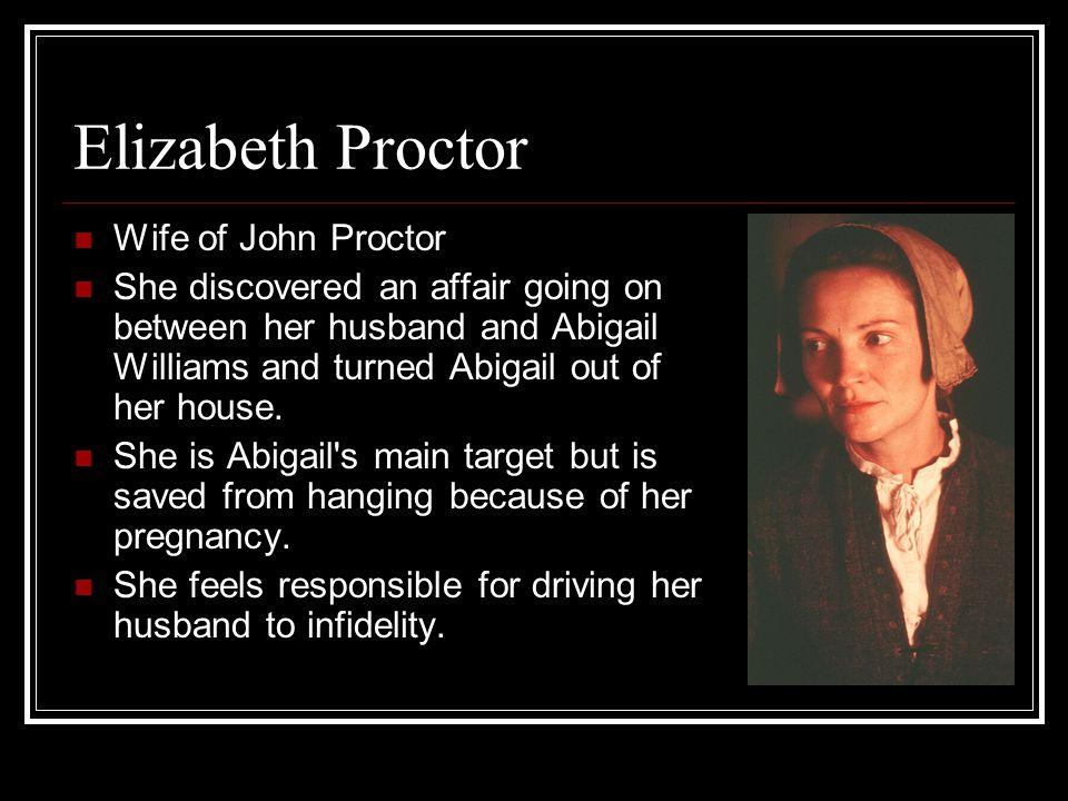 Elizabeth Proctor Wife of John Proctor